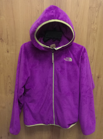 The North Face fuschia fleece jacket - 10/12