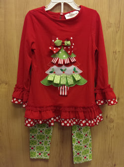 Rare Editions 2pc red Christmas outfit - 5