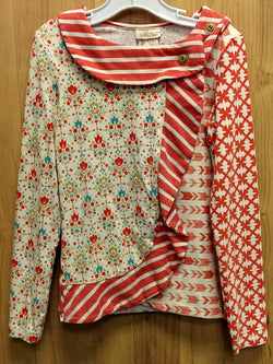 Matilda Jane Candy Cane Top (Secret Fields) - 10