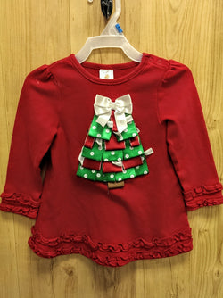 Starting Out long sleeve Christmas tree tee - 24mos