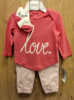Carter's NWT 3pc outfit - 3mos