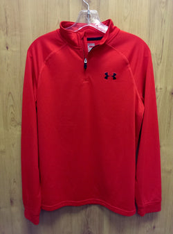 Under Armour Loose fit red ¼ zip pullover - Youth XL