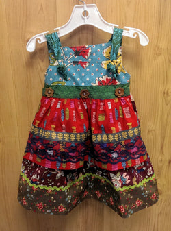 Matilda Jane Fiesta Dress (Paint by Numbers) - 18mos