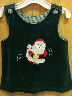Kelly's Kids vintage corduroy Santa dress - 2T