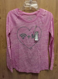 Justice NWT pink wifi tee - 10