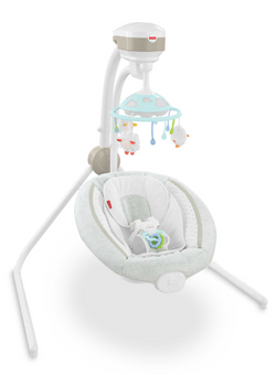 NEW (open box) Fisher Price Cradle n Swing - Comfy Cloud