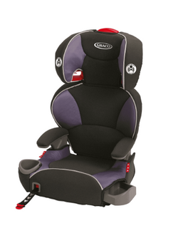 NEW (store display) Graco Affix high back booster car seat - Grapeade