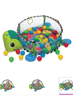 NEW in box Infantino Grow-With-Me Activity Gym & Ball Pit