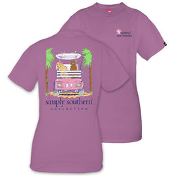 Simply Southern tee - Golf Cart Puppies - Adult Med
