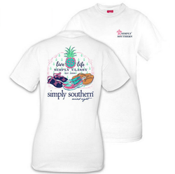Simply Southern tee - Live Life - Adult large
