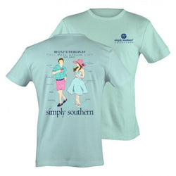 Simply Southern tee - Southern Date Attire - Adult Small