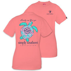 Simply Southern tee - Steady As You Go - Adult Large