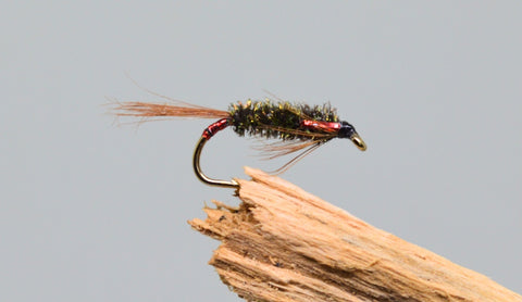 3D Red Diawl Bachs x 3 - Fast Flies top trout flies