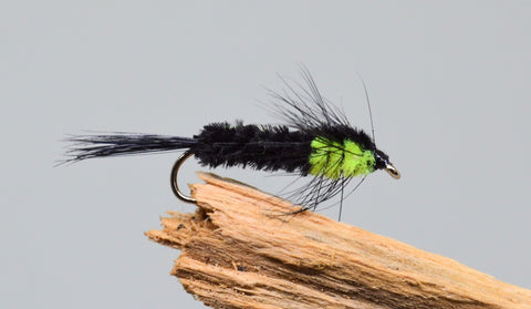 Black & Green Montana x 3 - Fast Flies top trout flies