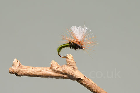 Olive Klinkhammers x 3 - Fast Flies top trout flies