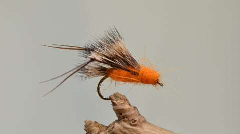 Orange Sedge Hoggs x 3 - Fast Flies top trout flies
