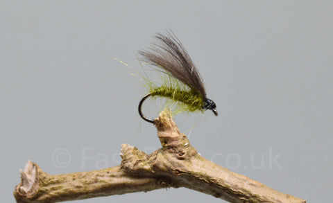 CDC Olive F Flies x 3 - Fast Flies top trout flies