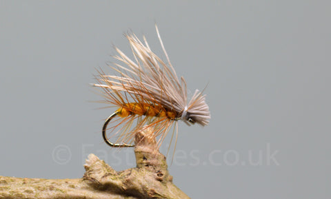 Orange Elk Hare Caddis x 3 - Fast Flies top trout flies