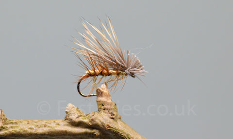 Tan Elk Hare Caddis x 3 - Fast Flies top trout flies