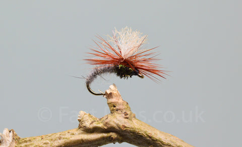 Hares Ear Klinkhammers x 3 - Fast Flies top trout flies