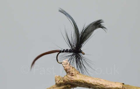 Black Drake May Flies - Fast Flies top trout flies