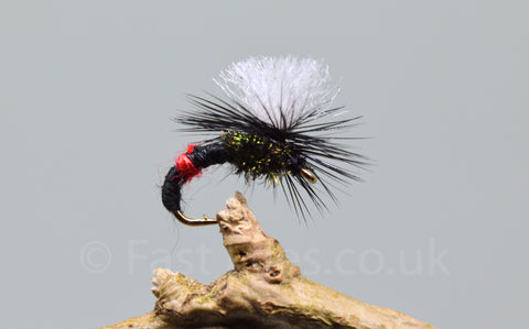 Bibio Klinkhammers x 3 - Fast Flies top trout flies