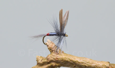 Iron Blue Dun x 3 - Fast Flies top trout flies
