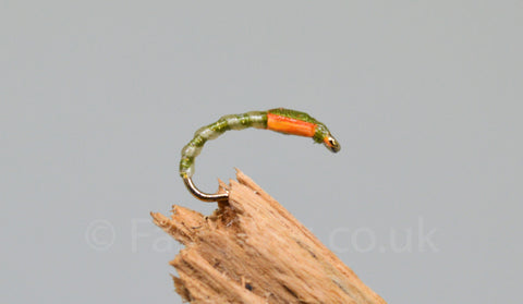 Olive Crisp x 3 - Fast Flies top trout flies