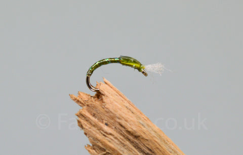 Olive Pearl with Breather x 3 - Fast Flies top trout flies
