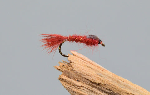 G.R.H.E. Claret x 3 - Fast Flies top trout flies