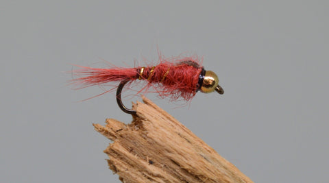Gold Head G.R.H.E. Claret x 3 - Fast Flies top trout flies