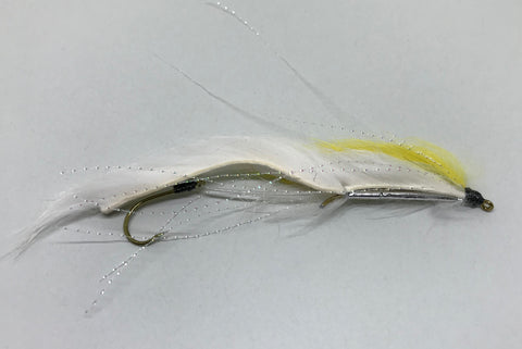 White & Yellow Snake - Fast Flies top trout flies