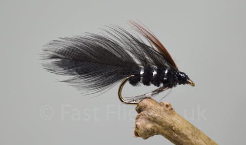 Mini Ace of Spades x 3 - Fast Flies top trout flies