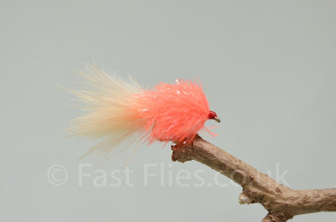 Mini Coral Fritz Blobs x 3 - Fast Flies top trout flies