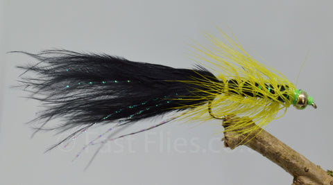 Gold Head Black Dancers x 3 - Fast Flies top trout flies