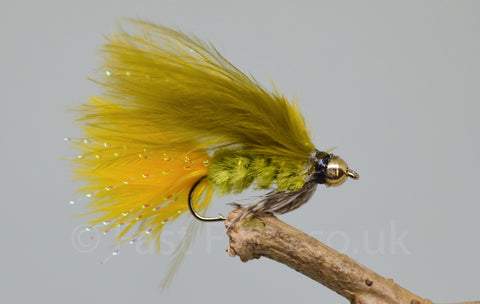Gold Head Dawsons Olive x 3 - Fast Flies top trout flies