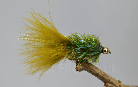 Gold Head Olive Fritz Woolly Bugger x 3 - Fast Flies top trout flies