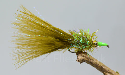 Gold Head Olive Nomads x 3 - Fast Flies top trout flies