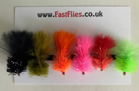 Mixed Blobs - Fast Flies top trout flies