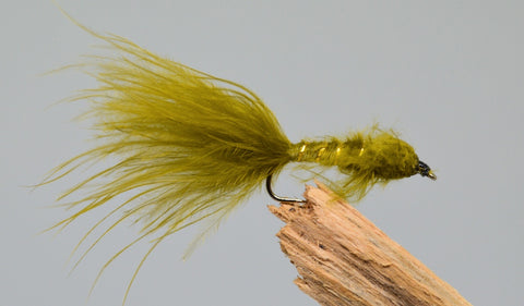 Marabou Damsels x 3 - Fast Flies top trout flies
