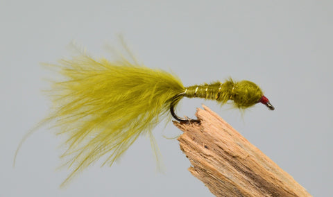 Marabou Damsels Weighted x 3 - Fast Flies top trout flies