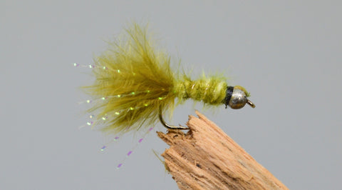 Mini Gold Head Damsels x 3 - Fast Flies top trout flies