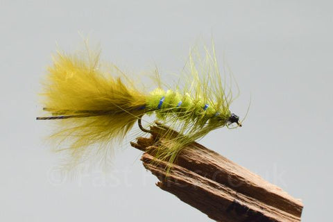 Blue flash damsel  x 3 - Fast Flies top trout flies
