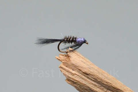 Diawl Bach UV Black & Purple x 3
