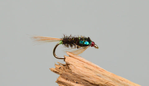 3D Green Diawl Bach (Barbless) - Fast Flies top trout flies