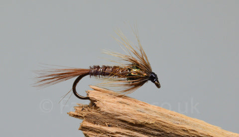 Gold Holo Cheek Cruncher x 3 - Fast Flies top trout flies