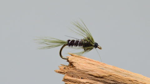 Olive Cruncher x 3 - Fast Flies top trout flies
