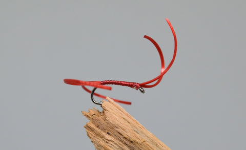 Red Flexi Floss Bloodworm x 3