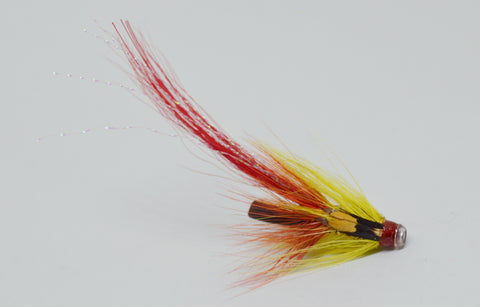Red Flamethrower Potbelly Pig Tube - Fast Flies top trout flies