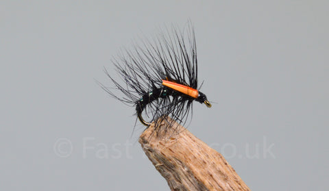 Black x 3 - Fast Flies top trout flies